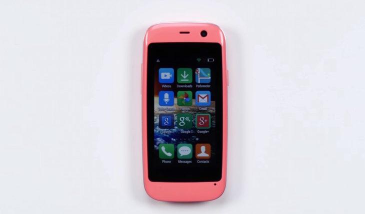 Micro X S240 : le smartphone Android le plus petit de la planète