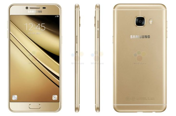 Le Samsung Galaxy C5 se dévoile entièrement en photos