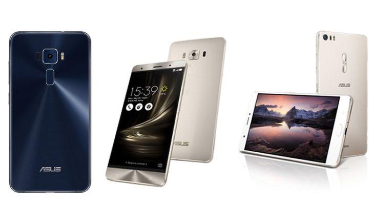 Asus dévoile les Zenfone 3, Zenfone 3 Deluxe & Zenfone 3 Ultra