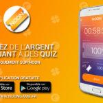 Noon: gagner de l'argent en jouant à des quiz sur Android