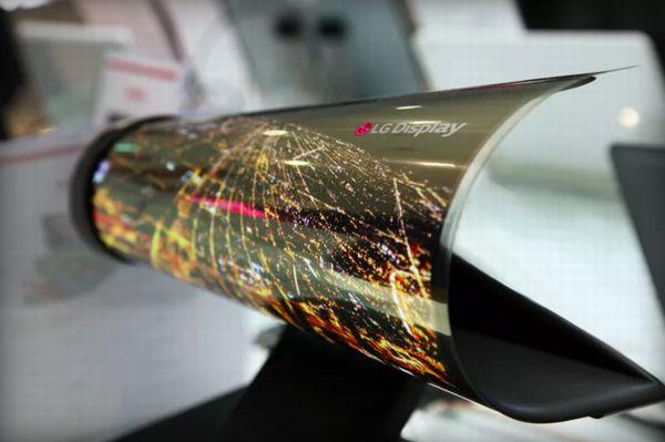 LG pourrait sortir un smartphone à écran flexible en 2017
