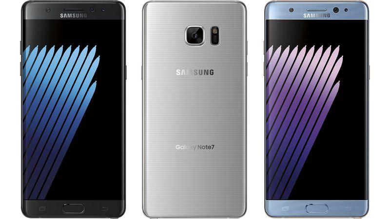 Rendu Galaxy Note 7
