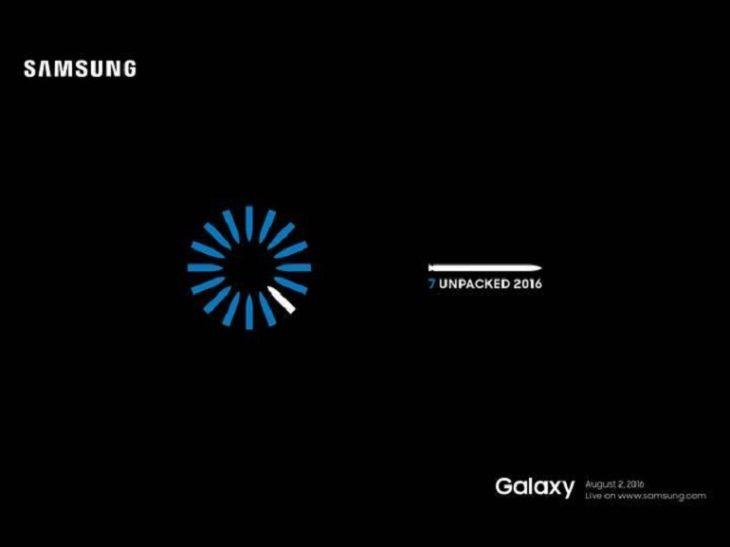 Samsung Galaxy Note 7 : présentation officielle le 2 août à New York