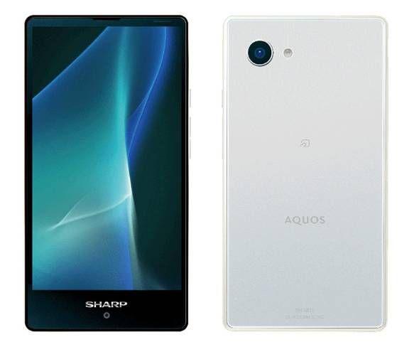 Sharp lance l'Aquos Mini, un smartphone 4,7 pouces au design plutôt séduisant