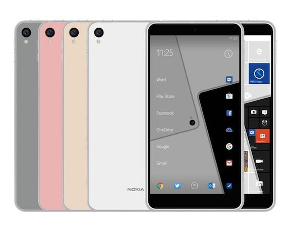Nokia : de nouveaux smartphones sous Android pour fin 2016