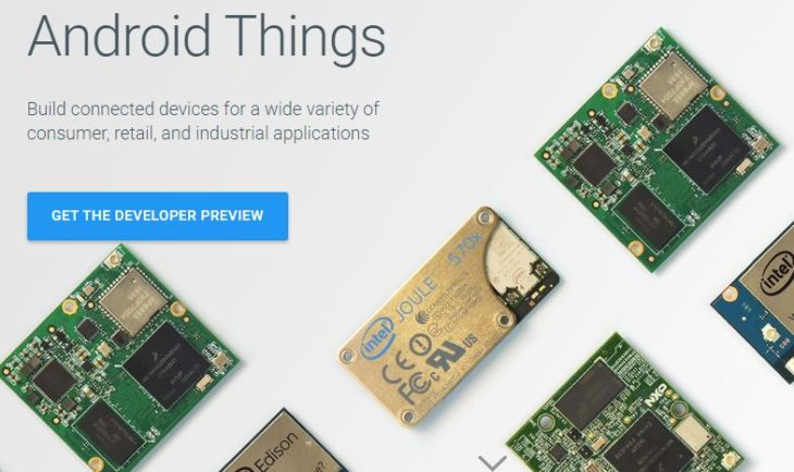 Android Things: nouvel OS Google pour les objets connectés