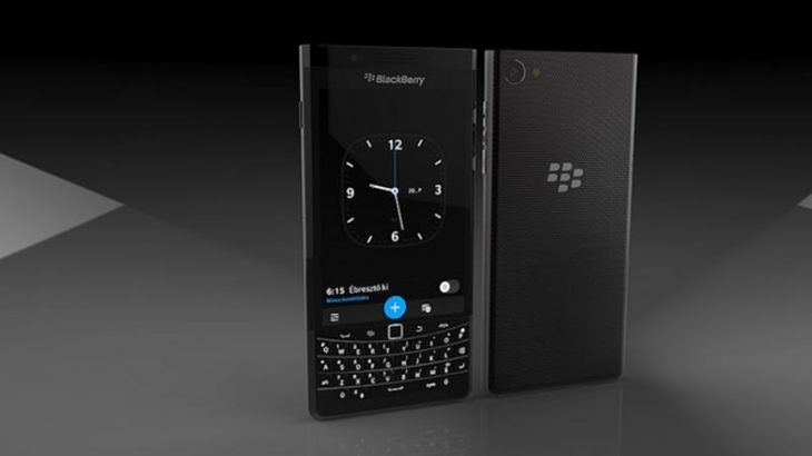 BlackBerry : un smartphone Android pour le CES 2017