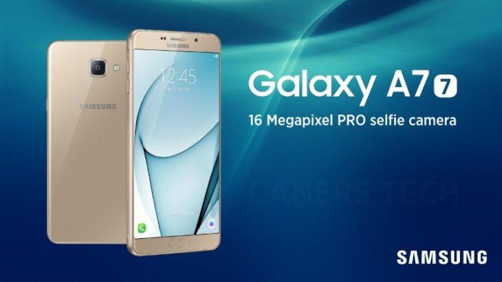 Samsung Galaxy A7 (2017) : sa fiche technique se dévoile