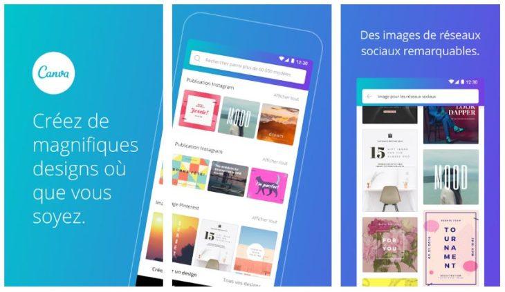 Canva : l'application qui monte pour créer ses designs